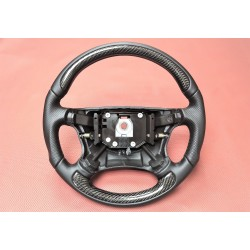 High Quality Hirsch-Style 9-5 Carbon Fiber Nappa Leather Steering Wheel