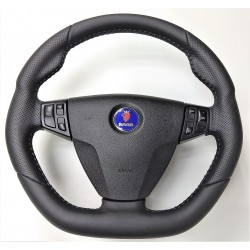 'Hirsch-Style' 9-3 Thick Leather Steering Wheel