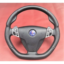 'Hirsch-Style' 9-5 Leather Steering Wheel