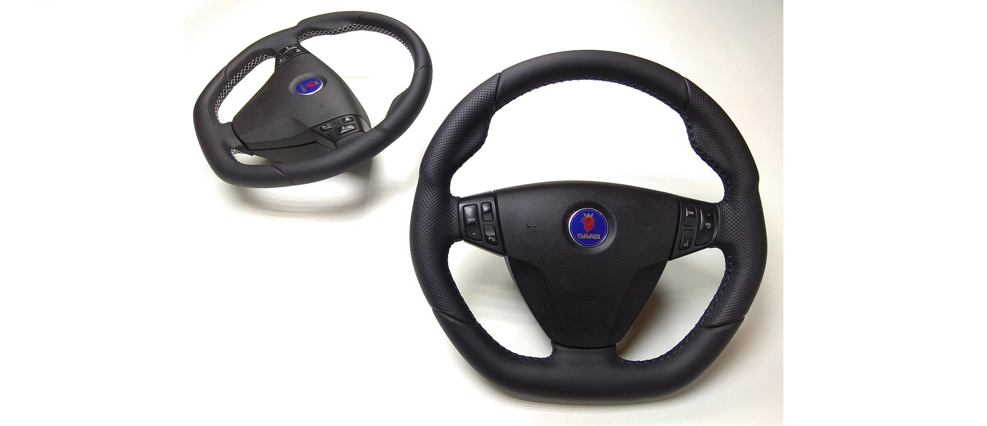 SAAB 9-3 steering wheels
